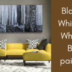 Black on White and White on Black paintings on ARTiful, painting demos by Sandrine Pelissier