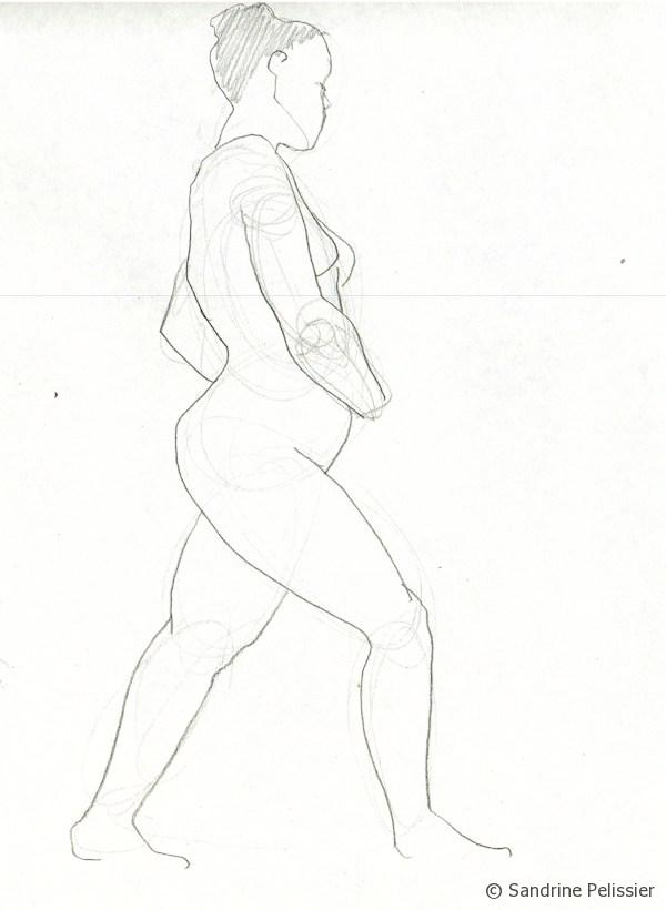 gesture drawing short pose