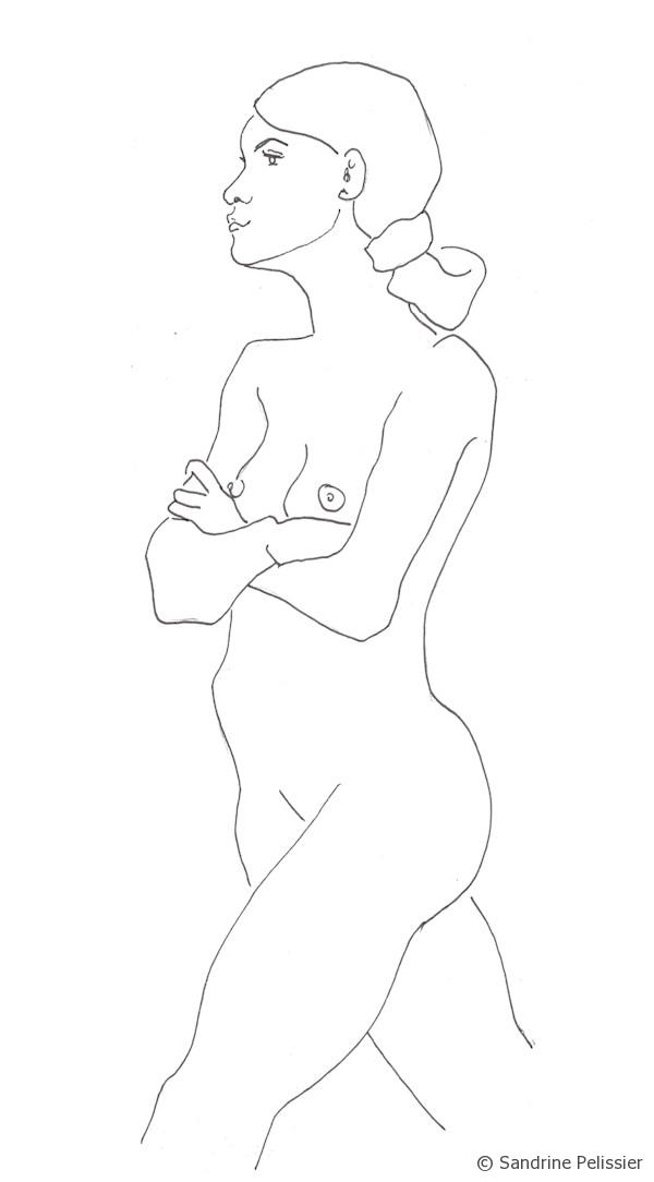 perfection is not important for life drawings