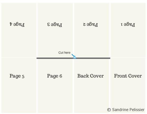 How to make a mini modular origami book -|- DIY Paper Book | Mini ... | 464x600