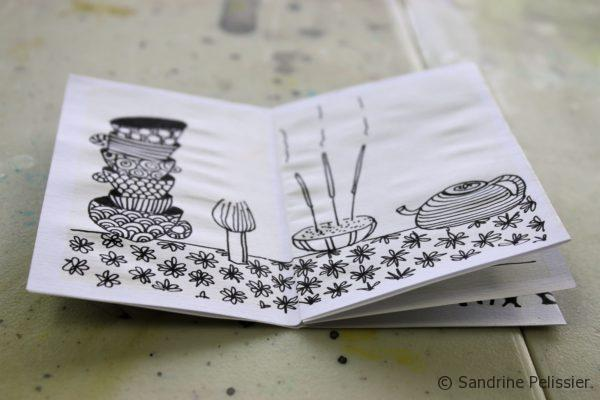 make mini coloring books