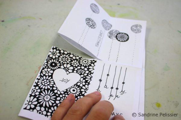 make a mini book from one sheet of paper