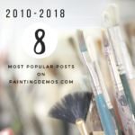 The 8 most popular posts of all time on paintingdemos.com