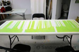 layering color for handprinting