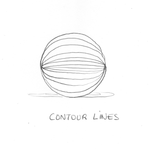 Contour Line Drawing App : Shading techniques for your drawings