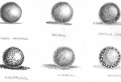 shading techniques for drawings