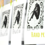 How to hand print linocuts