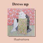 Dress up illustrations